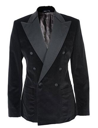 Dolce & Gabbana Black Wool Double Breasted Blazer US 38 EU 48.