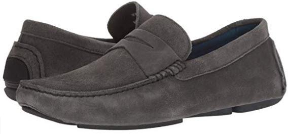 Donald J Pliner Men's Varran2-ol Loafer dark grey