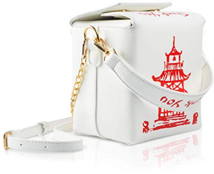 Fashion Crossbody Bag, Ustyle Chinese Takeout Box Style Clutch Bag for Girl
