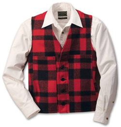 Filson 10056 Wool Vest – Extra Long