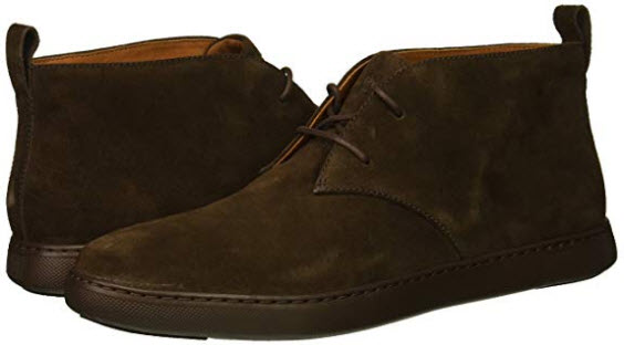 FitFlop Men's Zackery Desert Boots Sneaker chocolate