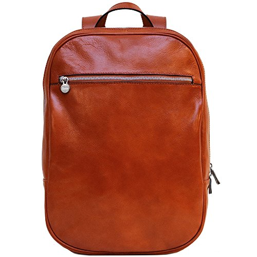 Floto Firenze Backpack in Brown Full Grain Calfskin Leather