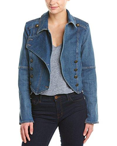 Free People Womens Vintage Collared Denim Jacket