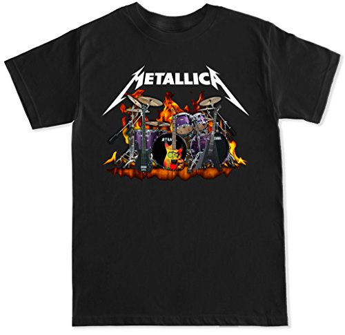 FTD Apparel Men's Metallica Rock Band T Shirt
