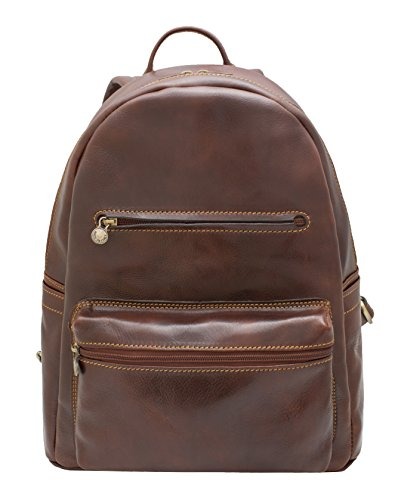 """GENUINE LEATHER BACKPACK """"TINTORETTO"""""""