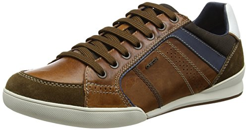 Geox Men's Kristof Lace Up Fashion Sneaker
