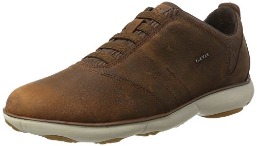 Geox U Nebula B Mens Slip On Leather Sneakers / Shoes