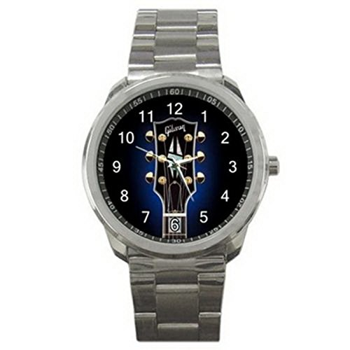 Gibson Guitars Instrument Logo #A Sport Metal Watch