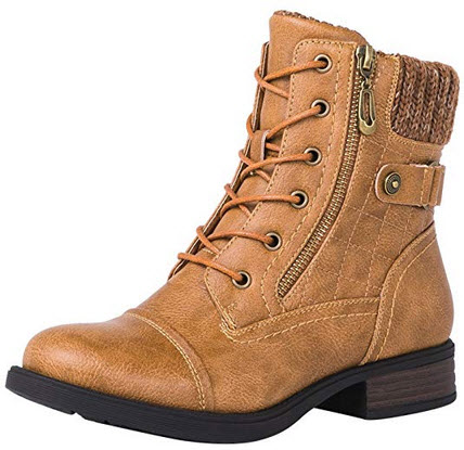 Globalwin Women's Marion Fashion Boots camel