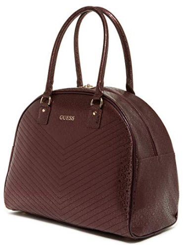 Guess Halley Dome Tote Bordeaux Travel, One Size, bordeaux