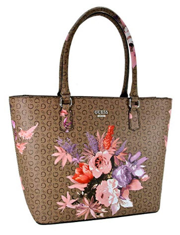 Guess Handbag, G Signature Faux Leather Tote