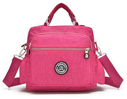 GuiShi(TM) Women Fashion Satchel Tote Shoulder Handbag Waterproof Top Handle Multi-function Nylo ...