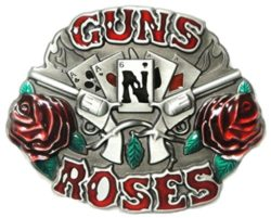 GUNS'N ROSES BELT BUCKLE