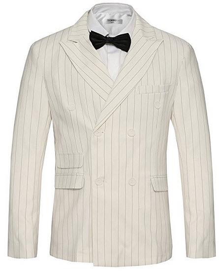 Hanayome Men's 1 Button Black Classic Notch Collar Tuxedo Jacket Party Suit Tux MS-2.