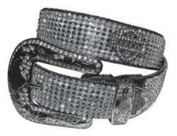Harley-Davidson Women's Embellished Crystal Saturday Night Belt