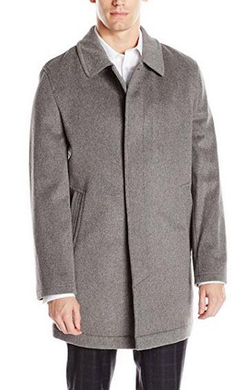 Hart Schaffner Marx Men's Douglas Cashmere-Blend Overcoat.