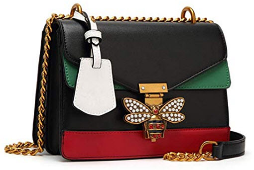 hideaway Ladies Big Honey Bee Purses Cross Body Handbags Trendy Bags for Women Shoulder Bag