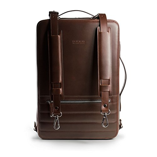 24Hr Switch Leather Bag – Italian Leather 3in1 Laptop Camera Briefcase