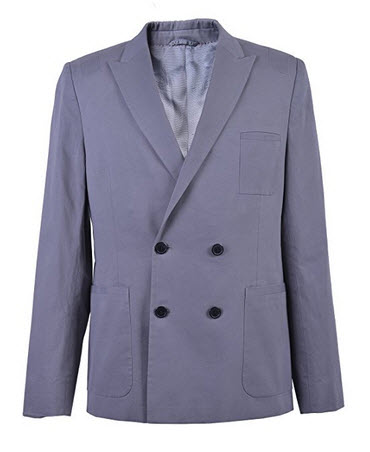 "Hugo Boss Men's ""Alfric"" Double Breasted Blazer US 40R IT 50R."