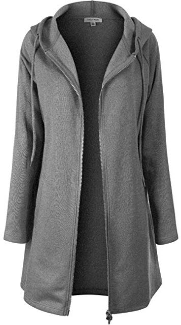 Instar Mode Women's Casual V-Neck Long Sleeve Hoodie Sweatshirt Pullover with Pocket mediu ...
