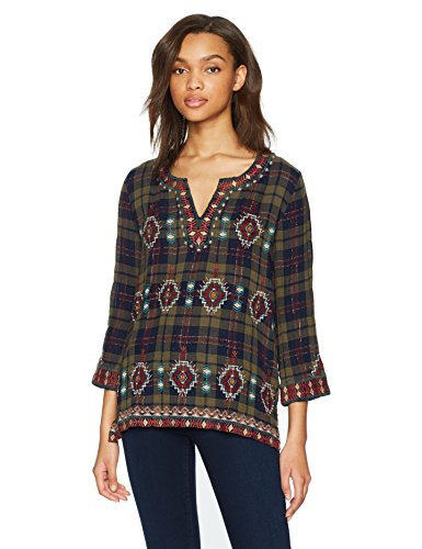 3J Workshop by Johnny Was Women's Delaney Peasant Top