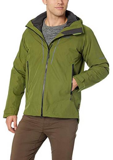 Jack Wolfskin Men's Sierra Trail 3-in-1 M Waterproof Insulated Jacket green