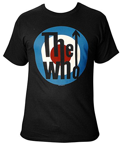 Jiggy Men's The Who Classic Logo T-Shirt