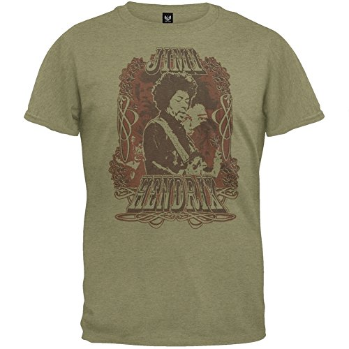 Jimi Hendrix – Collage Soft T-Shirt by Old Glory