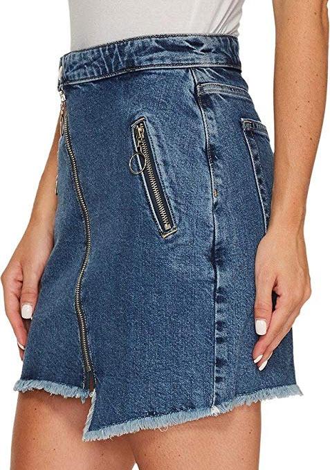 Joe's Jeans Womens Asymmetrical Zipper Skinny in Karla