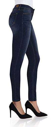 Jordache Essential High Rise Super Skinny Blue Jeans