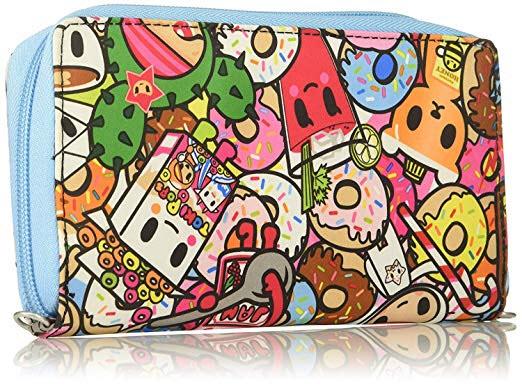 Ju-Ju-Be Tokidoki Collection Be Spendy Zip Around Wallet, Tokipops