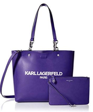 Karl Lagerfeld Paris Adele Tote, nautical address
