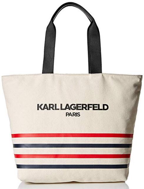 Karl Lagerfeld Paris Kristen Tote, stripe