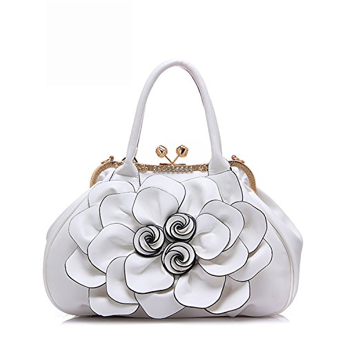 KDHJJOLY Practical 2016 New Brand Design Women Casual Floral Handbags PU Leather Bags Shoulder B ...