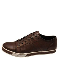 Kenneth Cole Brand Wagon Men Leather Sneakers