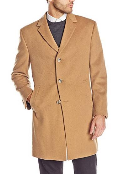 Kenneth Cole New York Men's Reaction Raburn Wool-Blend Top Coat.