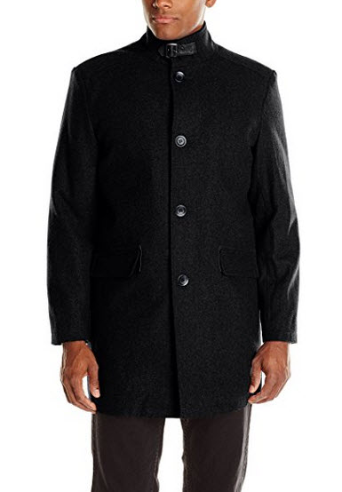 Kenneth Cole New York Men's Wool-Blend Walker Coat.