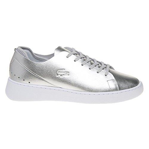 Lacoste Womens Silver Eyyla 317 1 Sneakers