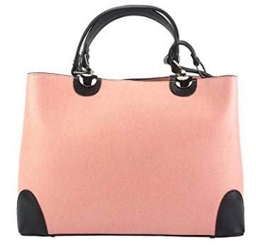 LaGaksta Madeline Top-Handle Purse Shoulder Bag, pink