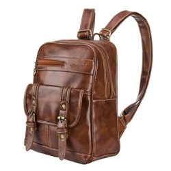 Leather Backpack for Women SNUG STAR