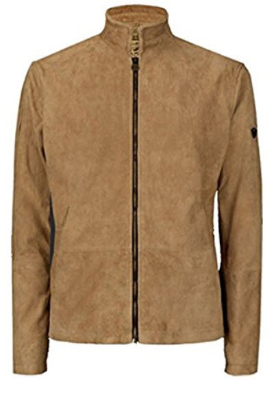 LeatherHill James Bond Morocco Blouson Jacket – Daniel Craig Brown Suede.