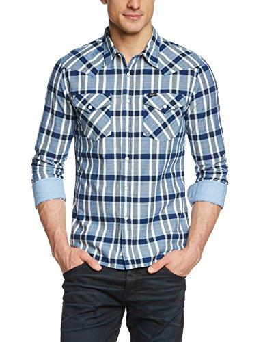 Lee Men's Western Long Sleeve Classic Slim Fit Shirt