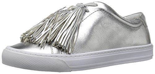 Loeffler Randall Women's Logan (Metallic Leater/Tassels) Fashion Sneaker