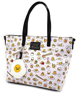Loungefly X Gudetama Allover Print Tote Bag