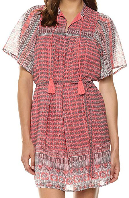 Lucky Brand Women's Jenna Dress, pink multi