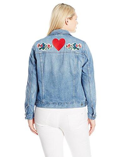 Lucky Brand Women's Plus-Size Classic Denim Jacket