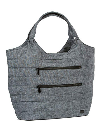 Lug Gondola Xl Shoulder Bag, Heather Gray Shoulder Bag