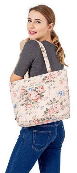 Lvtree Tote Shoulder Bag Handbag, Foldable Wallets Purse Bag for Outdoors Gym Hiking Picnic Trav ...