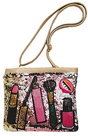 Magibag Lipstick Sequins Clutch Handbag Sparkle Zipper Evening Shoulder Cross-Body Bag for Women ...