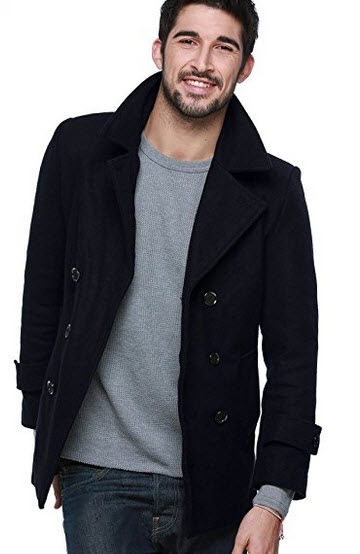 Match Men's Wool Coat.
